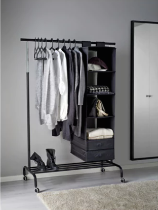 ikea clothing rail