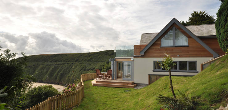 Grand Designs self build holiday home Cornwall