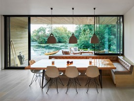Grand Designs self build holiday home in Norfolk Broads