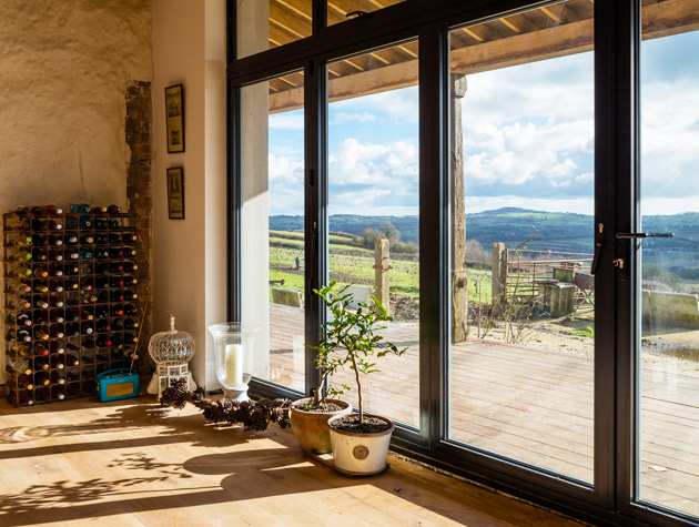 Grand Designs self build holiday home in Somerset