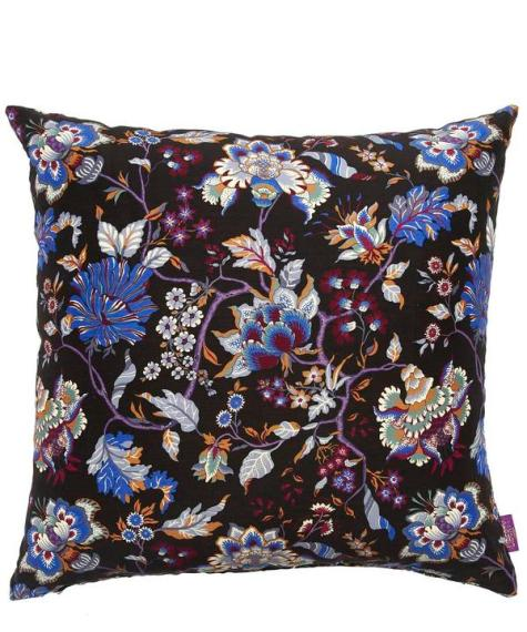 homeiswheretheheartis-british-interior-liberty-london-Christelle-Silk-and-Linen-floral-cushion