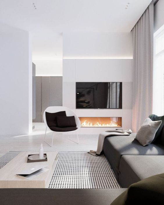 grey-blanket-grey-sofa-modern-living-room